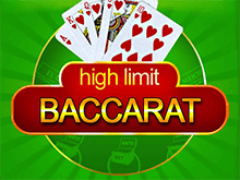 High Limit Baccarat в Joycasino